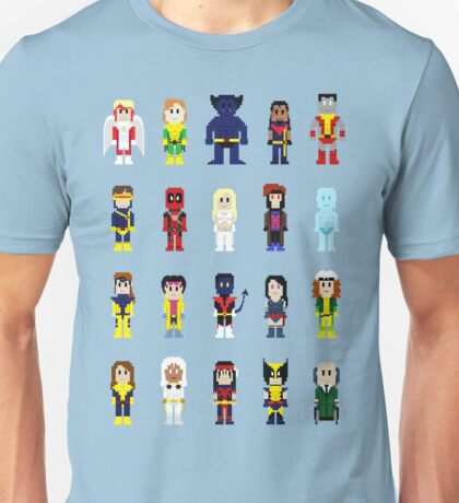 8-Bit Super Heroes 2: The Mutant-ing! Unisex T-Shirt
