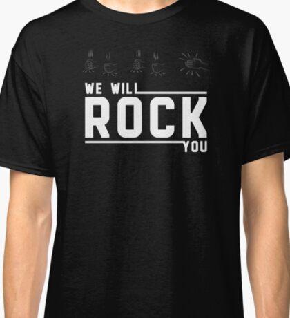 QUEEN - we will rock you Classic T-Shirt
