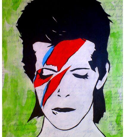 David Bowie (The Jean Genie) II Sticker