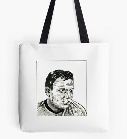 Captain Kirk Evil Clone Tote Bag