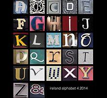 Irish Alphabet by mockbird