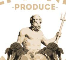 Neptune's Produce Sticker