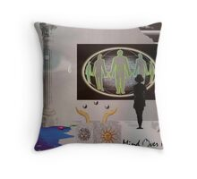 Mind over Reality Throw Pillow