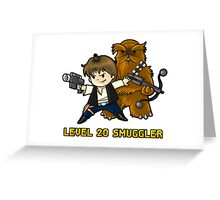 Level 20 Smuggler Greeting Card