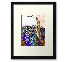 Poisoned Earth Framed Print