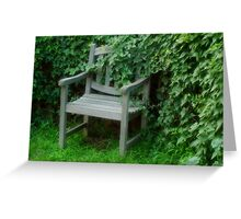 Garden Nook Greeting Card