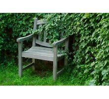 Garden Nook Photographic Print