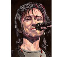Lawrence Gowan Solo Photographic Print