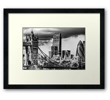 Tower Bridge and the City Framed Print