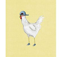Spring Chicken Photographic Print