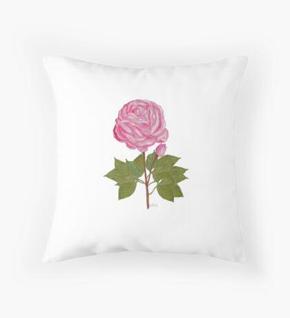 Rose Painting Print 21517 Throw Pillow