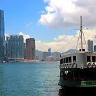 The River to Kowloon - Hong Kong. by Tiffany Lenoir