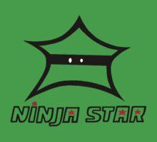 Black Ninja Star  Kids Clothes