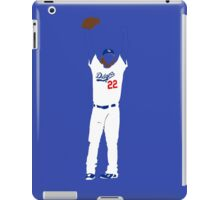 "Kershaw ""No-Hitter"" iPad Case/Skin"