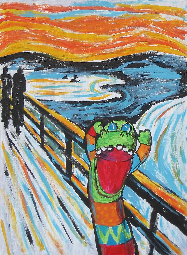 The Scream by fischer