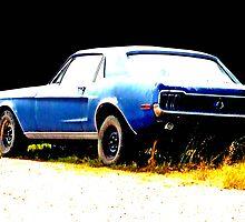 Blue Car by miltoov