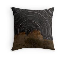 The South Pole over Castle Rock Throw Pillow