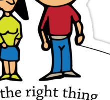 Do the right thing Pick Up That Poop Sticker