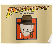 Indiana Scones & The Toaster of Doom Poster