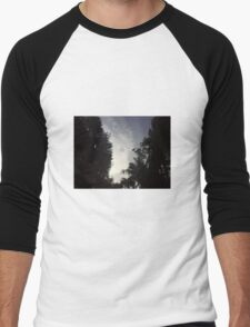 cloudy Men's Baseball ¾ T-Shirt