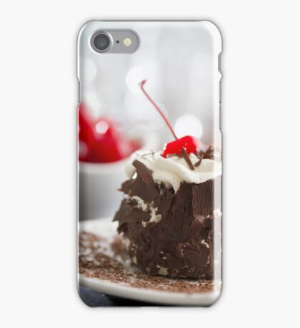 Black Forest Cake iPhone Case/Skin