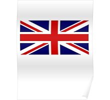 Union Jack, British Flag, UK, United Kingdom, Pure & simple 1:2 Poster