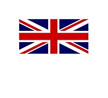 Union Jack, British Flag, UK, United Kingdom, Pure & simple 1:2 Photographic Print