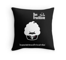 Don Frostleone Throw Pillow