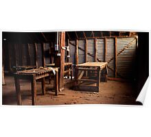 Shearing Shed - Balmorral - Victoria Poster