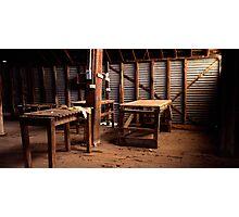 Shearing Shed - Balmorral - Victoria Photographic Print