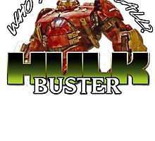 hulk buster armour by jammywho21