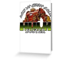 hulk buster armour Greeting Card