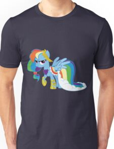 Rainbow Dash Grand Galloping Gala Outfit Unisex T-Shirt
