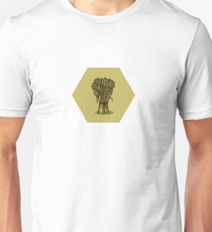 Wheat Hex Unisex T-Shirt