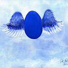 Halo angel egg by Veera Pfaffli