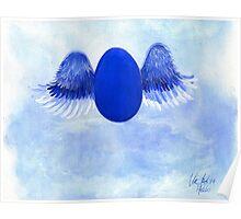 Halo angel egg Poster