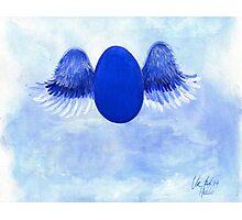 Halo angel egg Photographic Print
