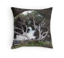 Pandanus on Pandanus Throw Pillow