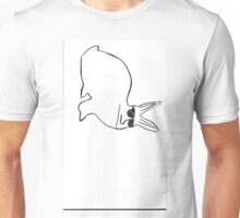 Ricky the really upset rabbit Unisex T-Shirt