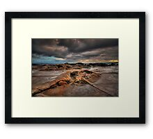 Susan Gilmore Beach at Dusk 3 Framed Print