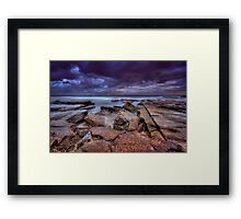 Susan Gilmore Beach at Dusk 4 Framed Print