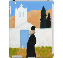 Greek Painting Greek Papas iPad Case/Skin
