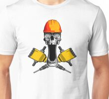 Demolition Skull Unisex T-Shirt