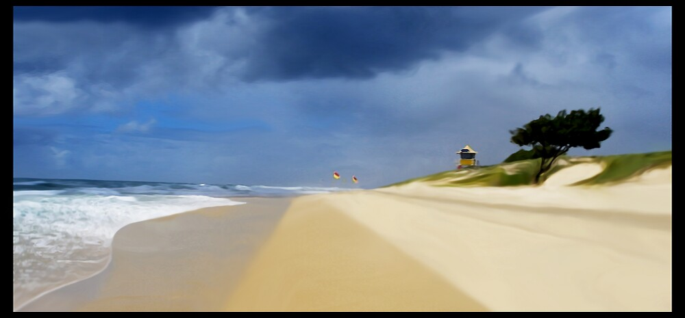 Beach Lines by Cliff Vestergaard