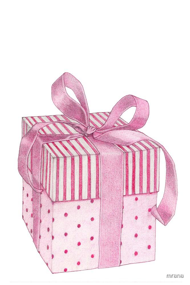 Pink Gift Box by Mariana Musa