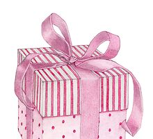 Pink Gift Box by Mariana Musa