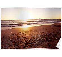 Beachy Sunset! Poster