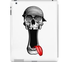 Skull Wearing Backwards Hat iPad Case/Skin