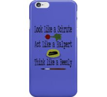 The Office - Schrute, Halpert, Beesly iPhone Case/Skin