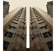 Hong Kong Apartments with sweeping angle Photographic Print